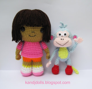 Crochet patterns for air freshener dolls