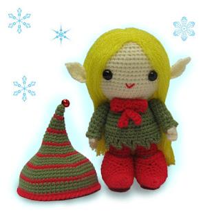 Amigurumi elf