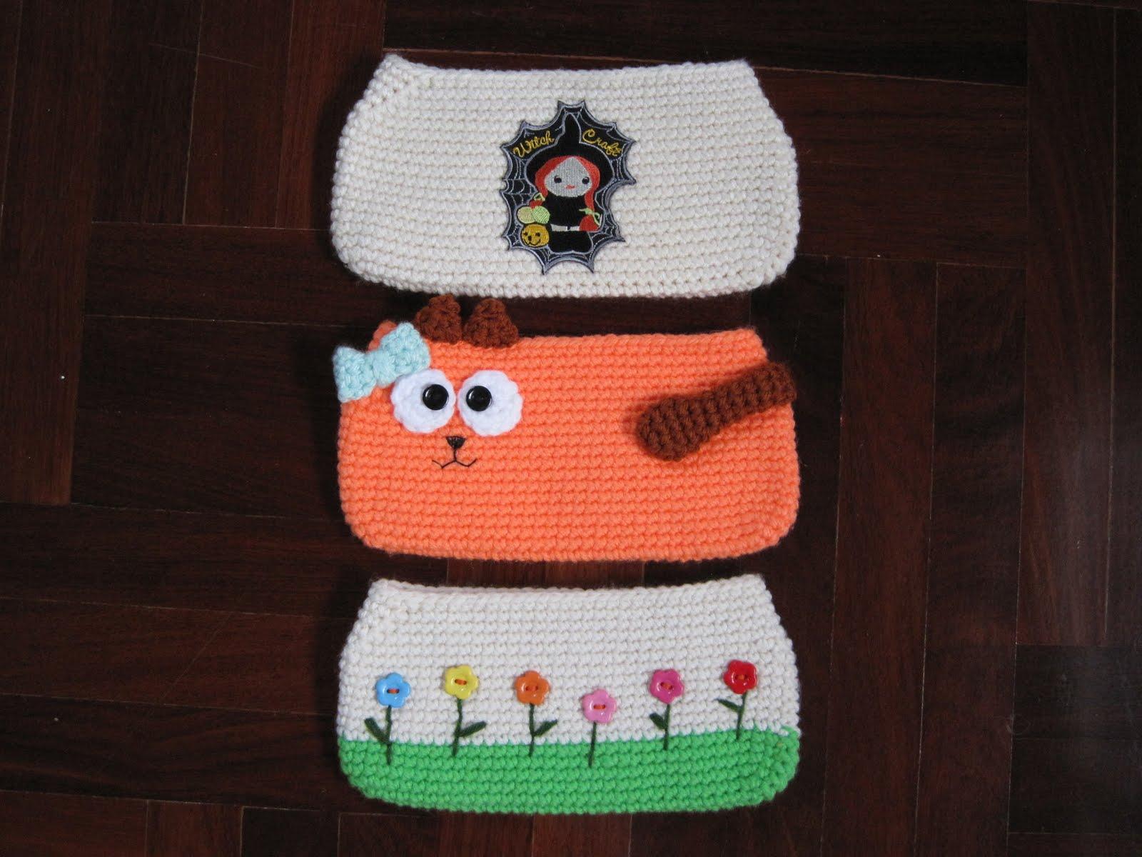 Chat Trousse crochet AMIGURUMIMODELES GRATUITS-