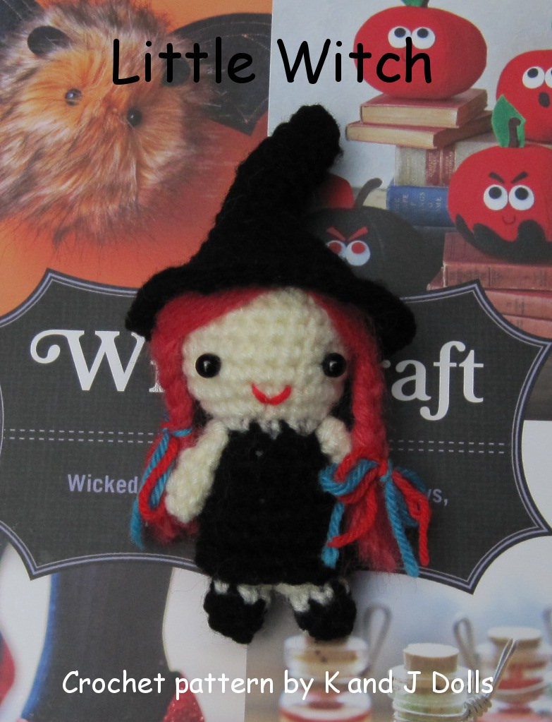 Free Amigurumi Witch crochet pattern for Halloween - Sayjai ...