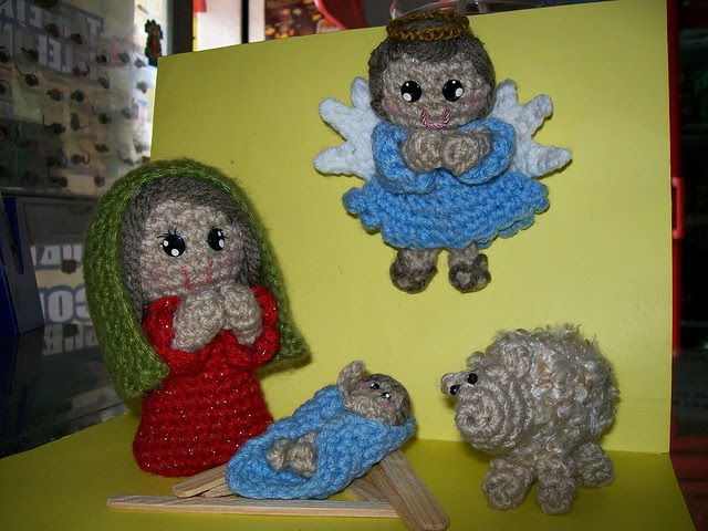 Free Crochet Patterns Nativity Scene : 2000 Free Amigurumi Patterns: Nativity Scene (Spanish)