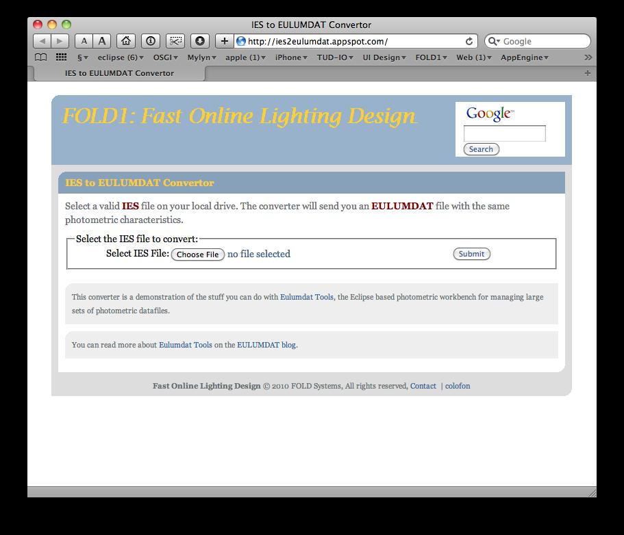 eulumdat tools new online ies to eulumdat converter