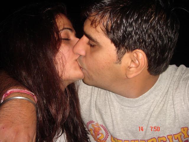 hot and cool hot desi indian couple enjoying on theri honeymoon