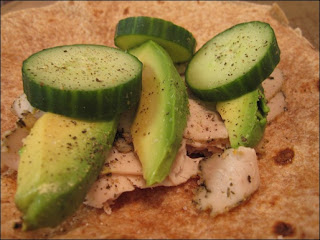 Kitchen Goddess: Tuna avocado wrap