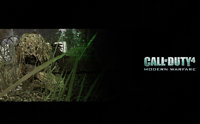 call of duty 4 sniper wallpaper. call of duty 4 sniper. call of
