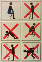 some toilet rules