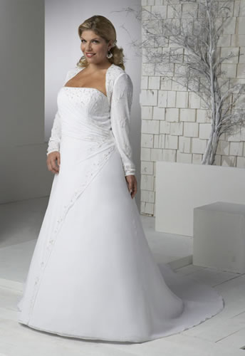 Vjenčanice - Page 6 Plus+size+wedding+dresses