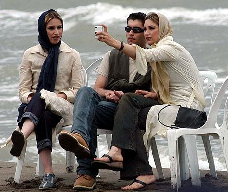 sex beach in iran