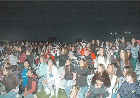 La presentación del espectáculo provocó el fervor de miles de