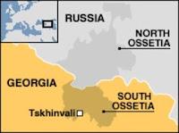Ossetia map