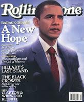 Glowing Obama