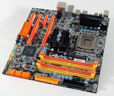 LANParty JR P45-T2RS micro-ATX motherboard