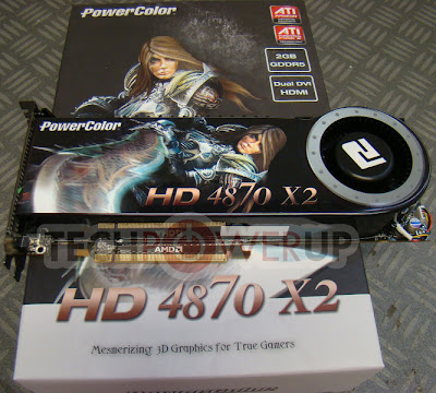 PowerColor HD 4870 X2 video card
