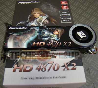 PowerColor HD 4870 X2 video card