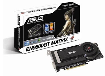 ASUS ROG EN9800GT MATRIX/HTDI/512M video card