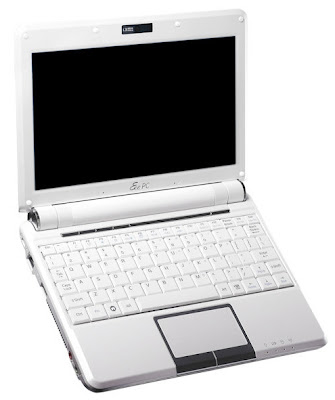 ASUS Eee PC 901 white netbook cu acces internet 3.75G