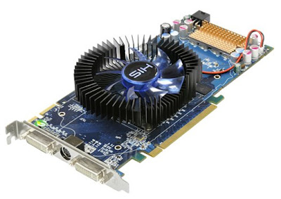 HIS Radeon HD 4850 Fan video card with blue PCB