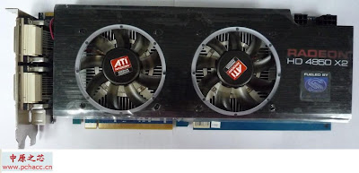 Sapphire ATI Radeon HD 4850 X2 2GB GDDR3 video card