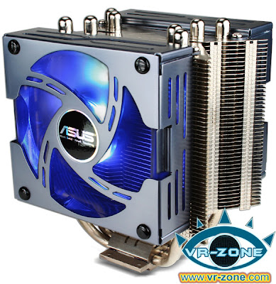 ASUS Triton 81 cooler for Intel Core i7 blue LEDs