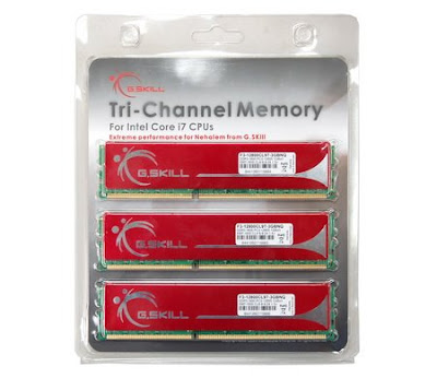 G.Skill 3GB/6GB kit triple channel pentru Core i7