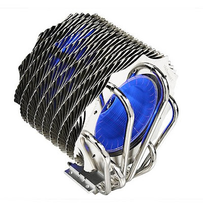 Thermaltake SpinQ CPU cooler with blue LEDs