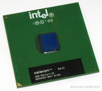 Intel Celeron 600MHz socket 370 FCPGA, Coppermine core