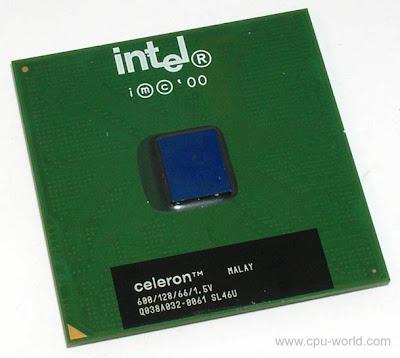 Intel Celeron 600MHz socket 370 FCPGA, Coppermine core