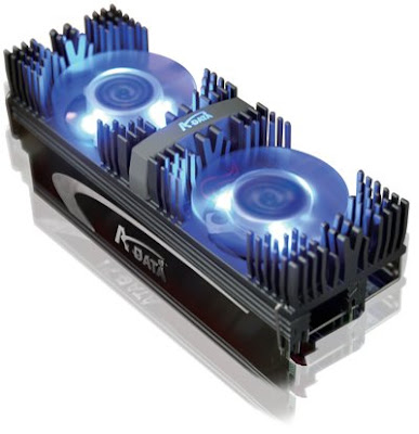 A-DATA XPG DDR3-2133X X-series v2.0 memory modules with dual fan cooler
