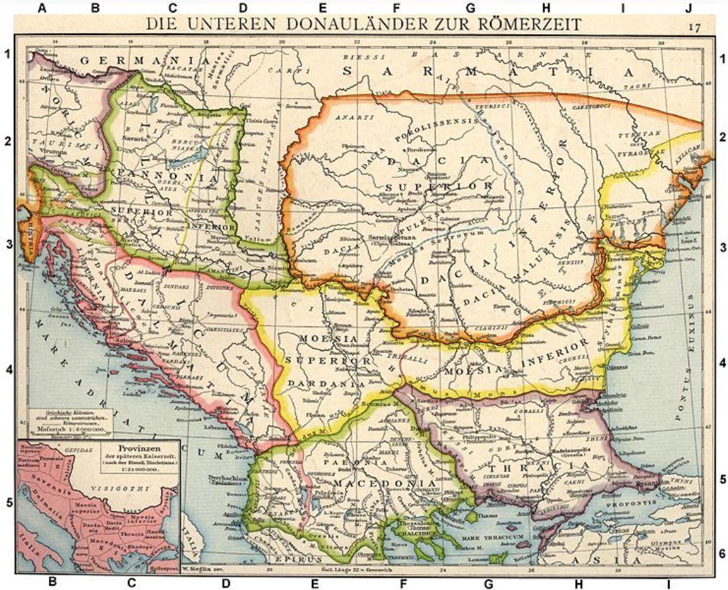 Istocna Srbija Karta