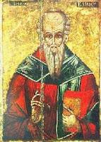 Икона святого Климента Александрийского