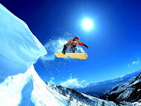 Сноубордтнг. Фото
