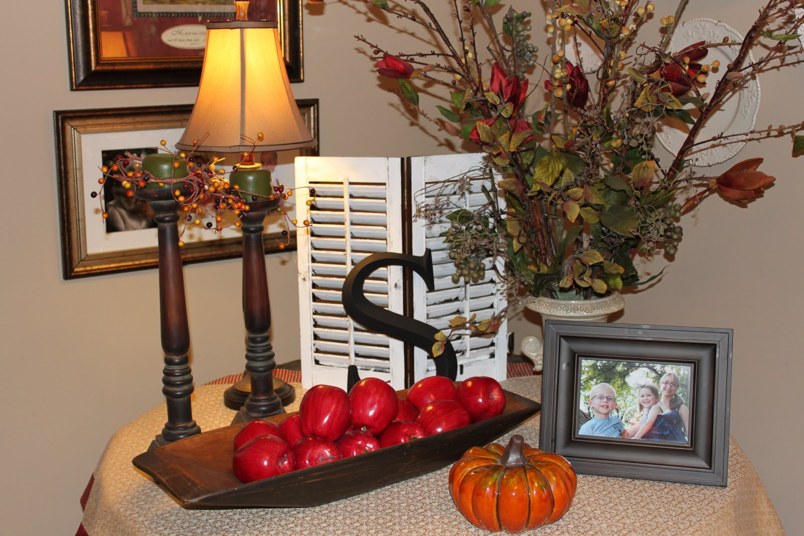Fall table decor hobby lobby pictures to pin on pinterest