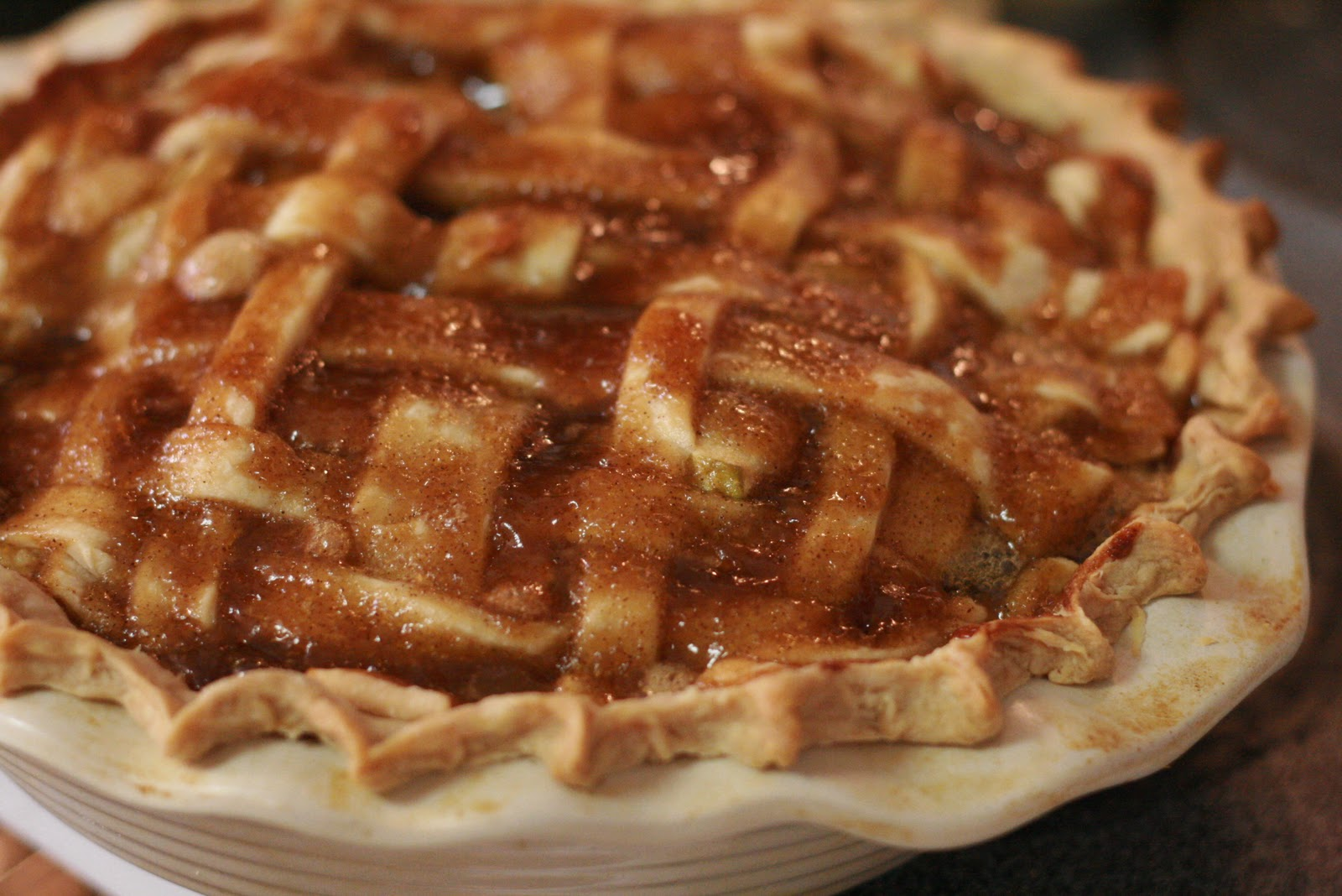 Fabulous Foods!: Deep Dish Apple Pie