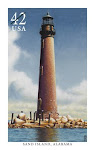 Sand Island Lighthouse Stamp