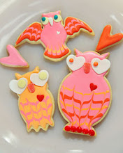 Lovebird Cookies