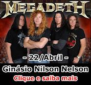 Megadeth em Brasília!!!