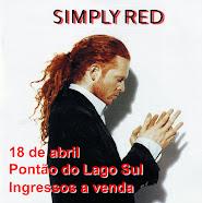 Simply Red em Brasília!