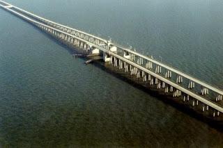 Danau Pontchartrain Causeway
