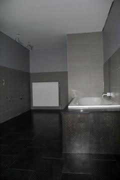 Hofstraat nr.24: Badkamer: kurk