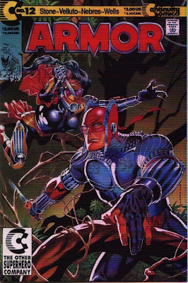 cover of Armor #12 from Continuity Comics