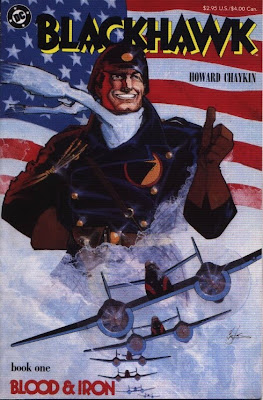 cover of Blackhawk #1 from DC Comics