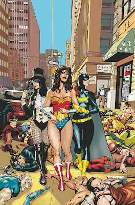 Zatanna, Wonder Woman and Batgirl from Brave and the Bold #33 from DC Comics