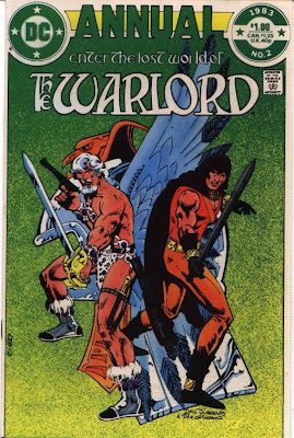 cover of Warlord Annual #2 fro DC Comics