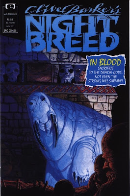 cover of Clive Barker's Nightbreed #12 from Epic Comics
