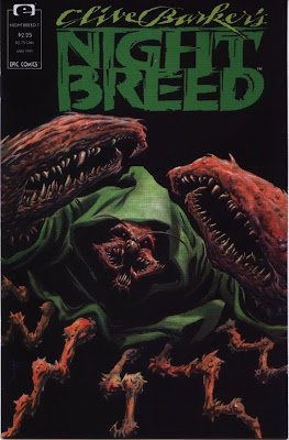 cover of Clive Barker's Nightbreed #7 from Epic Comics
