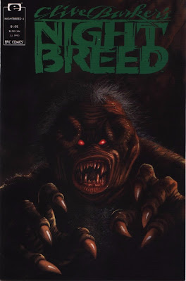 cover of Clive Barker's Nightbreed #4 from Epic Comics