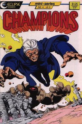 cover of Champions #4 from Eclipse Comics