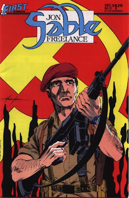 cover of Jon Sable Freelance #31 from First Comics