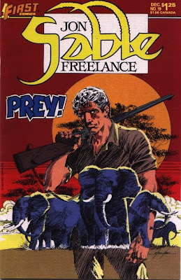 cover of Jon Sable Freelance #19
