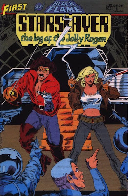 cover of Starslayer #31 from First Comics